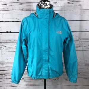 The North Face Hyvent Rain Jacket w/ Hood Small